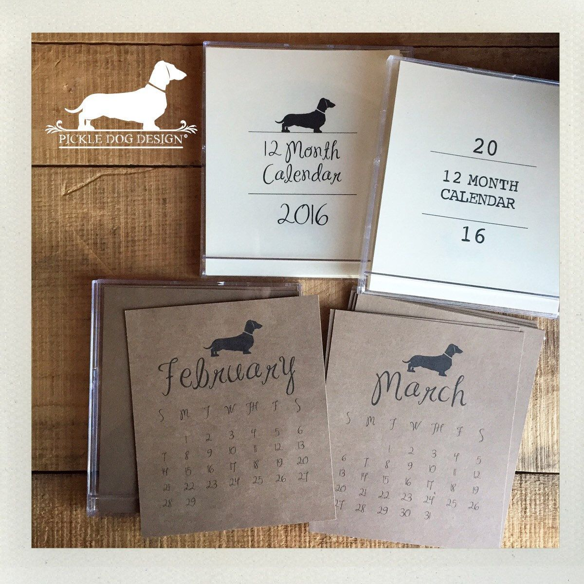 We say goodbye to February next week. It's not too late to welcome March with a new calendar.  We have a handful of 2016 calendars left in stock now on clearance for only $5. Once they're gone, they're gone!