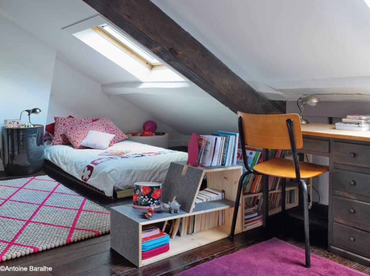 les 30 plus belles chambres de petites filles chambres d. Black Bedroom Furniture Sets. Home Design Ideas