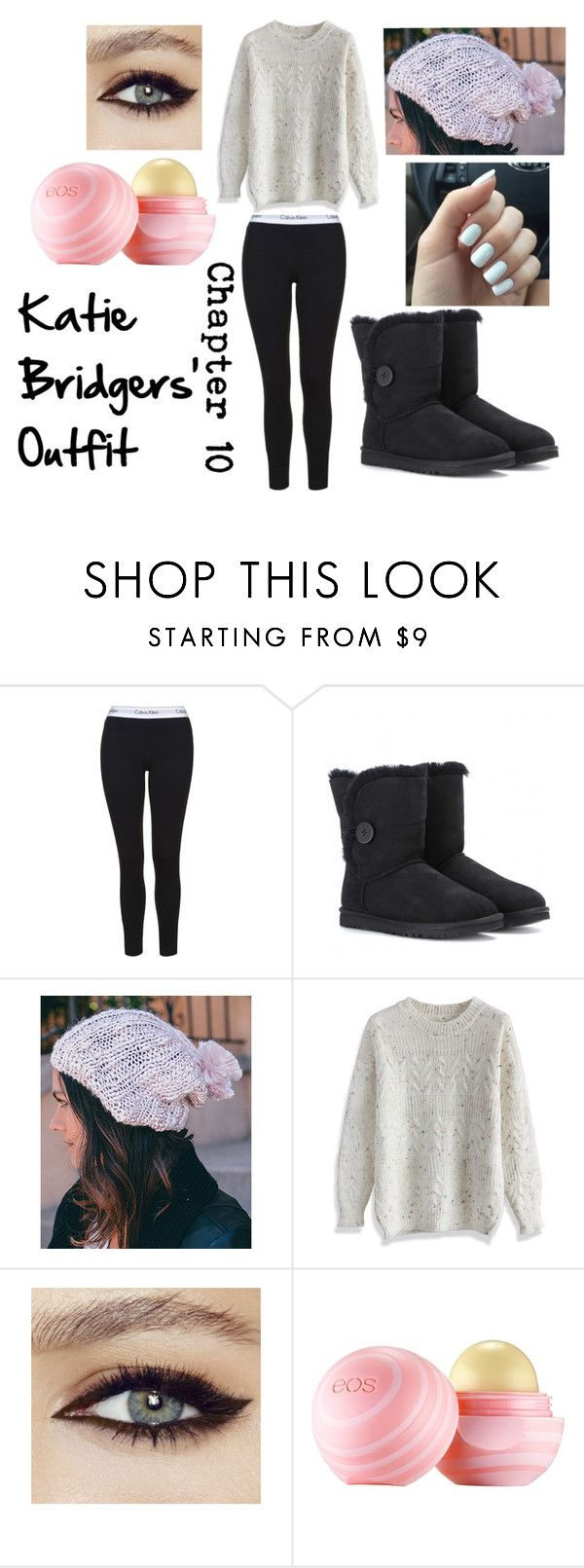 """Finally Falling"" by danielle263 on Polyvore featuring UGG Australia, Leto, Chicwish and Eos"