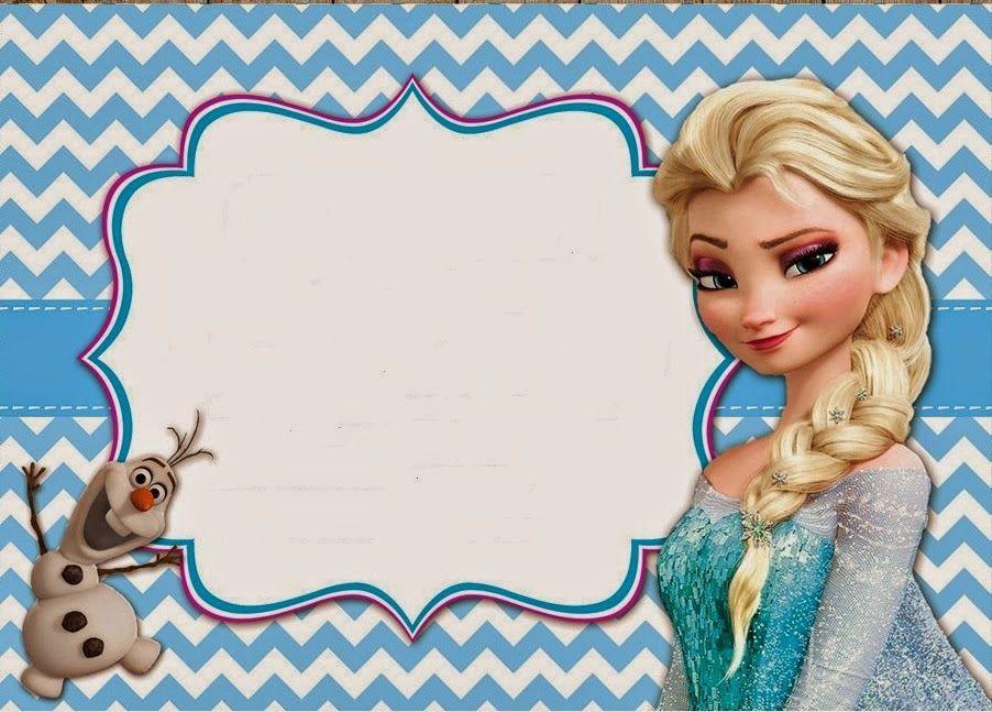 Tarjetas De Cumpleaños Frozen Para Imprimir En Hd 16 En Hd