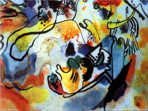 The last judgment -  Wassily Kandinsky 1912