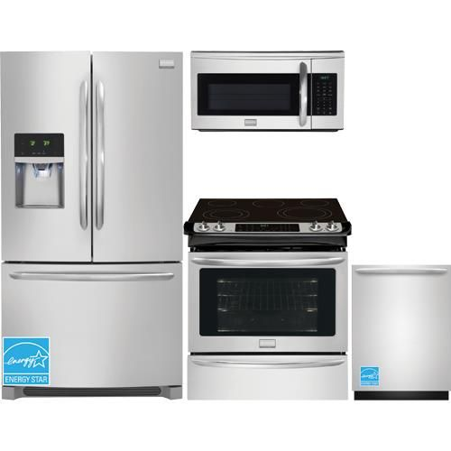 Best Frigidaire Stainless Steel Complete Kitchen Package 640 x 480