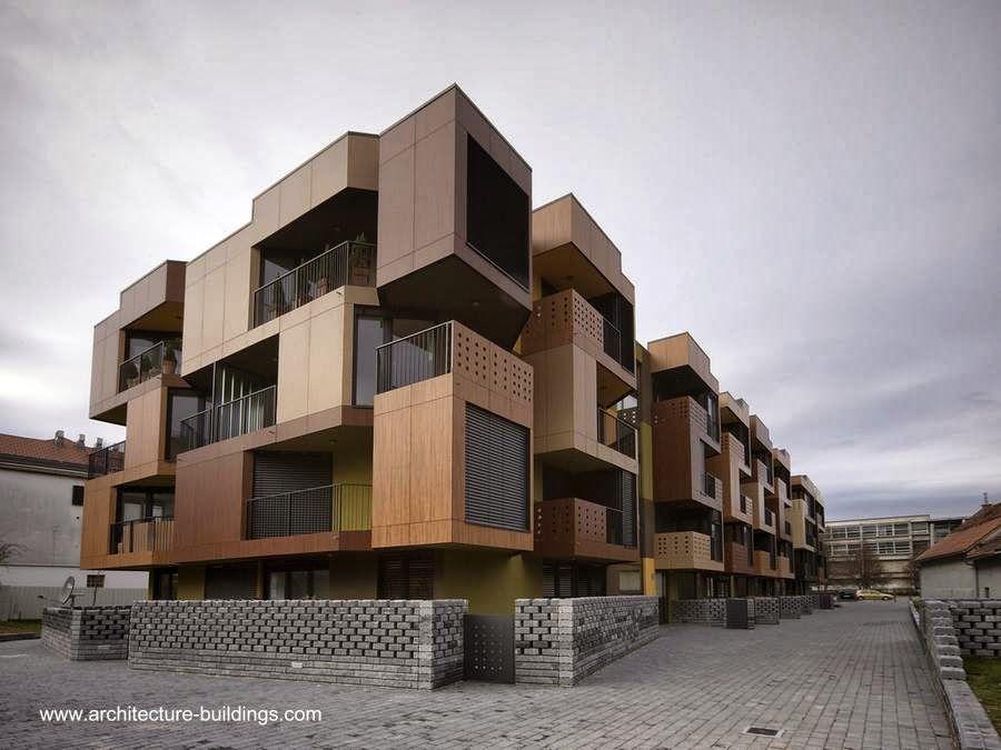 Edificio departamentos contemporaneo buscar con google for Edificios modernos de departamentos