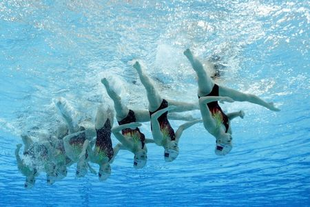 Oh how I miss synchronised swimming