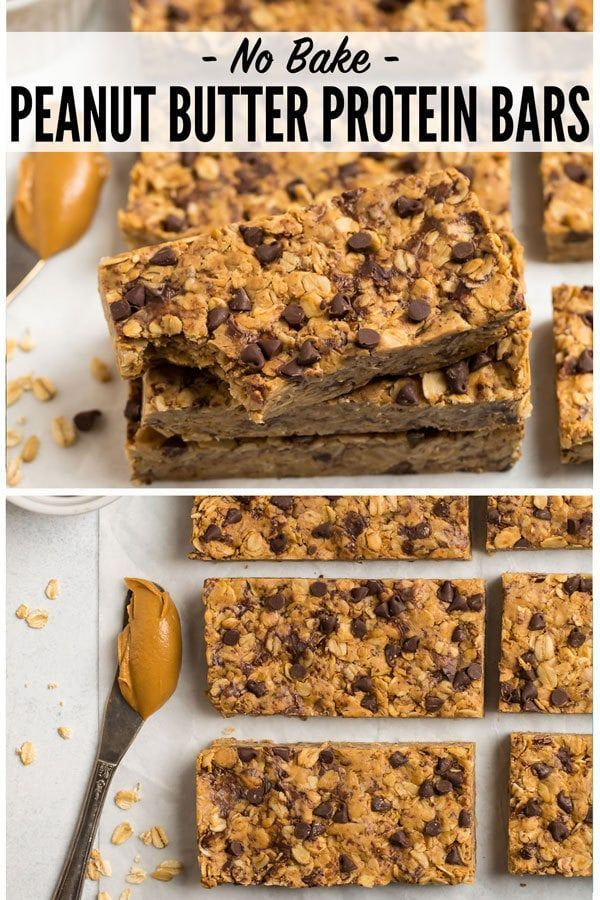 Peanut Butter Protein Bars – Carey&CleanEatingS