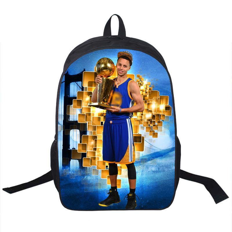 Basketball Star Stephen Curry Backpack