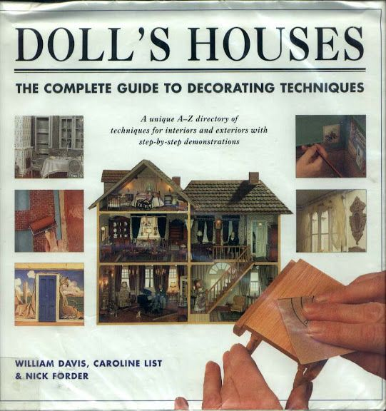 Doll   houses the complete guide to decorating techniques estefania comesana picasa albums web also rh pinterest
