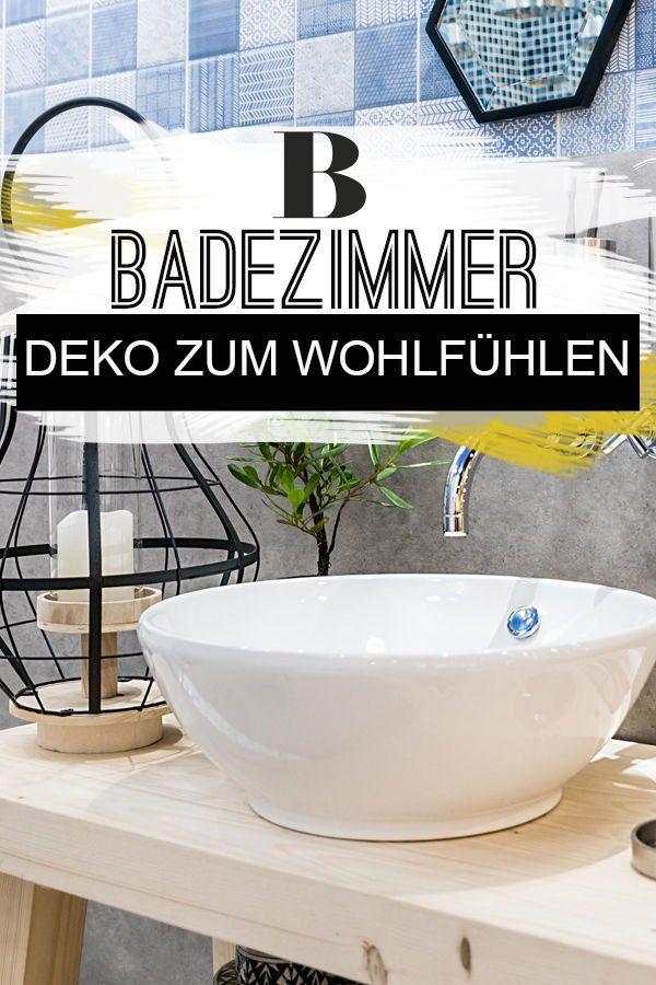 Badezimmer-Deko: Ideen zum Wohlfühlen | Badezimmer deko ...
