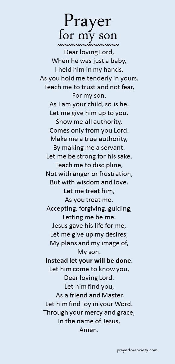 For My Son Babies Pinterest Prayers Prayer For My Son And Pray
