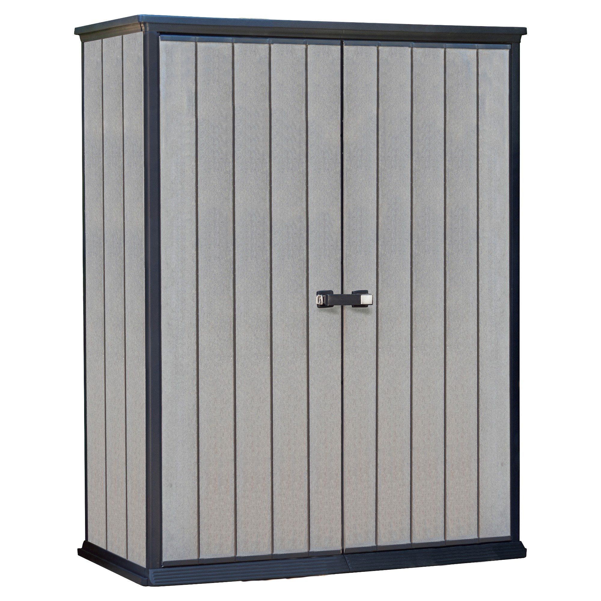 High Store Customizable Horizontal Outdoor Storage Shed Gray Keter Small Outdoor Storage Garden Storage Shed Shed Storage