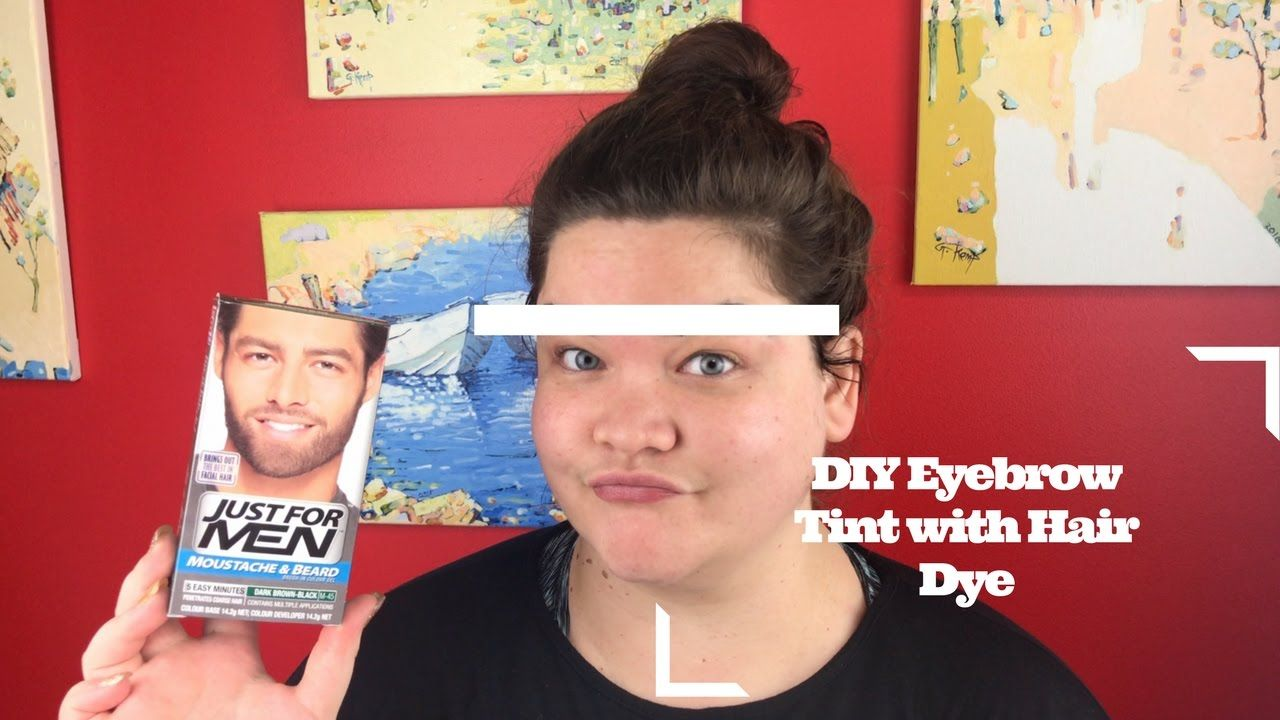 Diy Eyebrow Tint With Hair Dye Beauty In 2019 Eyebrow