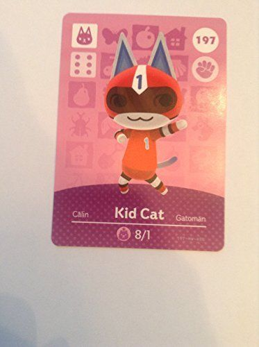 Nintendo Animal Crossing Happy Home Designer Amiibo Card Kid
