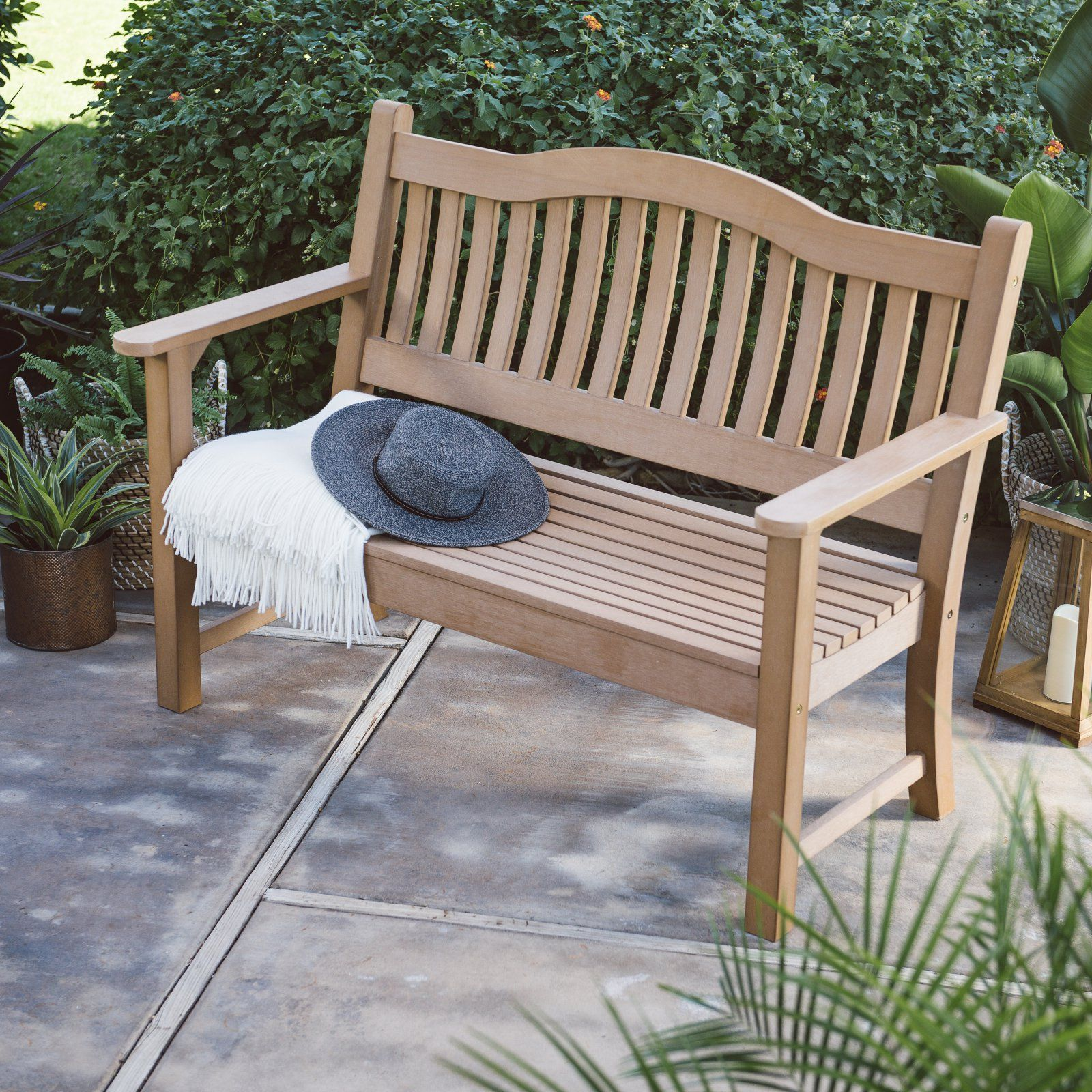 German Made Weatherproof Resin Garden Bench With Images