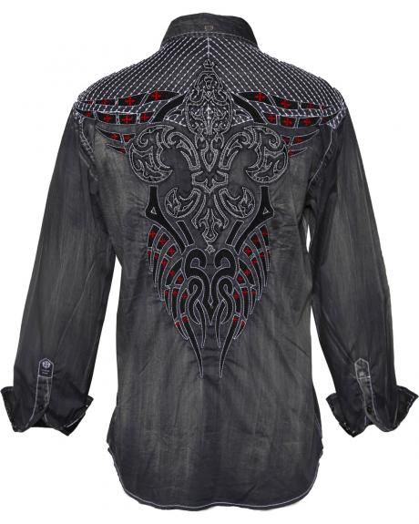 588ea3c32536 Roar Men's Rampage Long Sleeve Shirt | Cowboy Style in 2019 ...