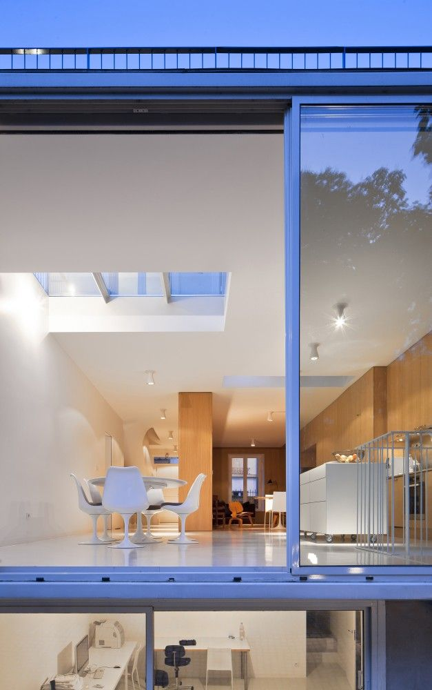 Gallery Of House In Vincennes Azc 11 Modern House Design House Design House