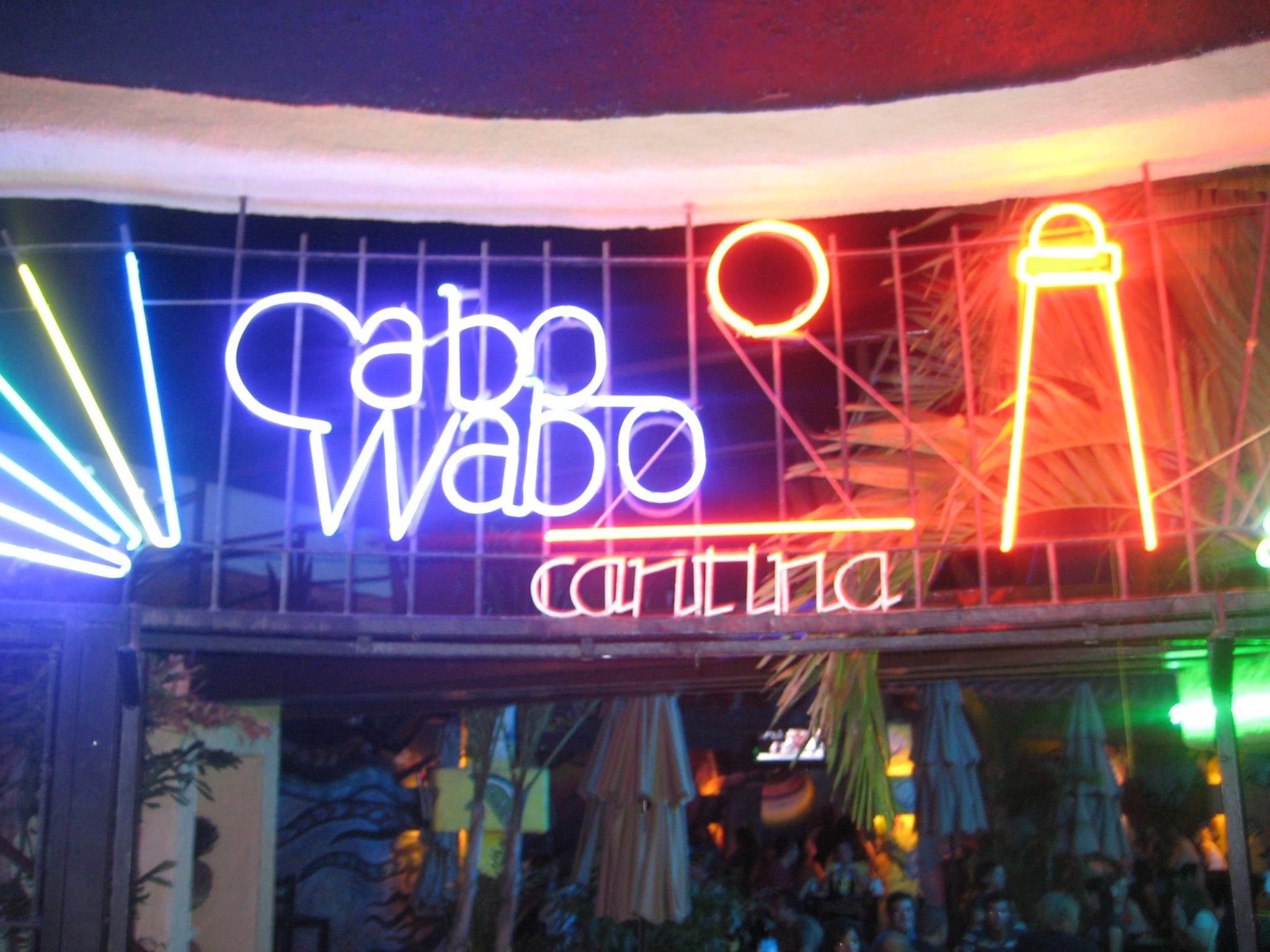 Cabo Wabo San Lucas Los Cabos Los Cabos San Lucas Night Life Neon Signs