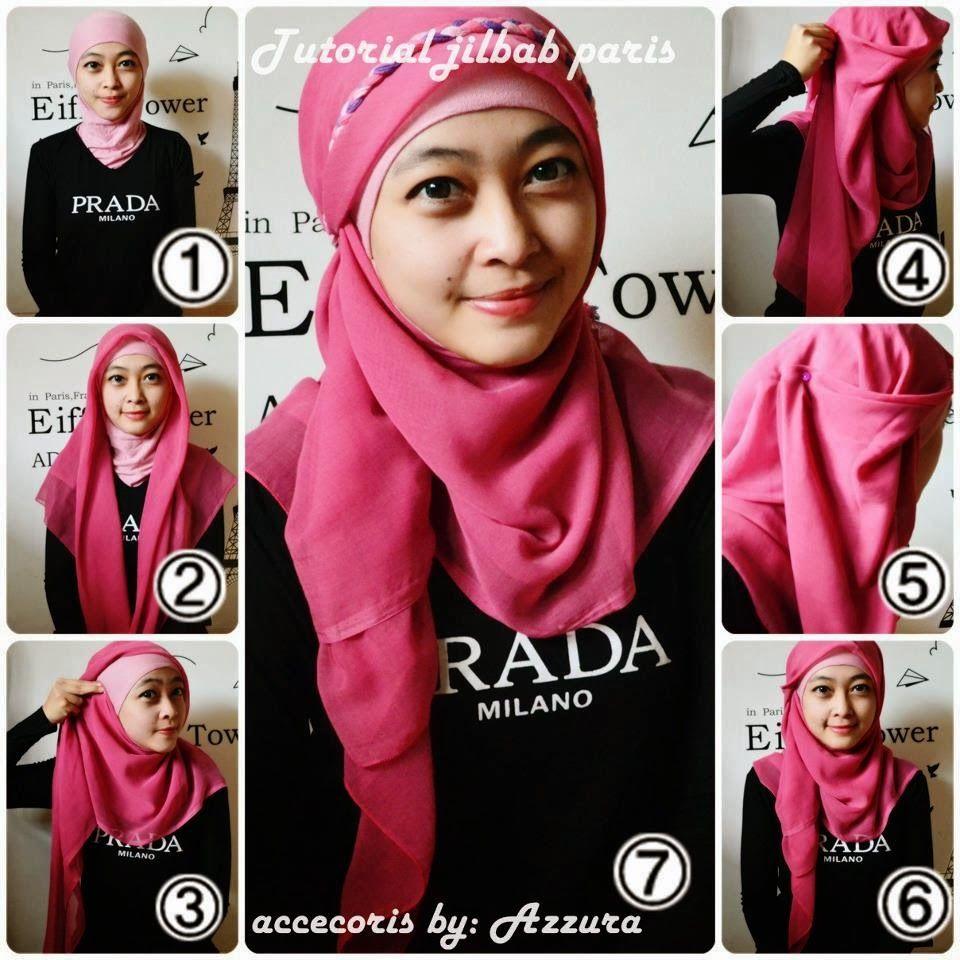 Jilbab Paris Pink Indah Inner Muda Http Modelmodeljilbabcom