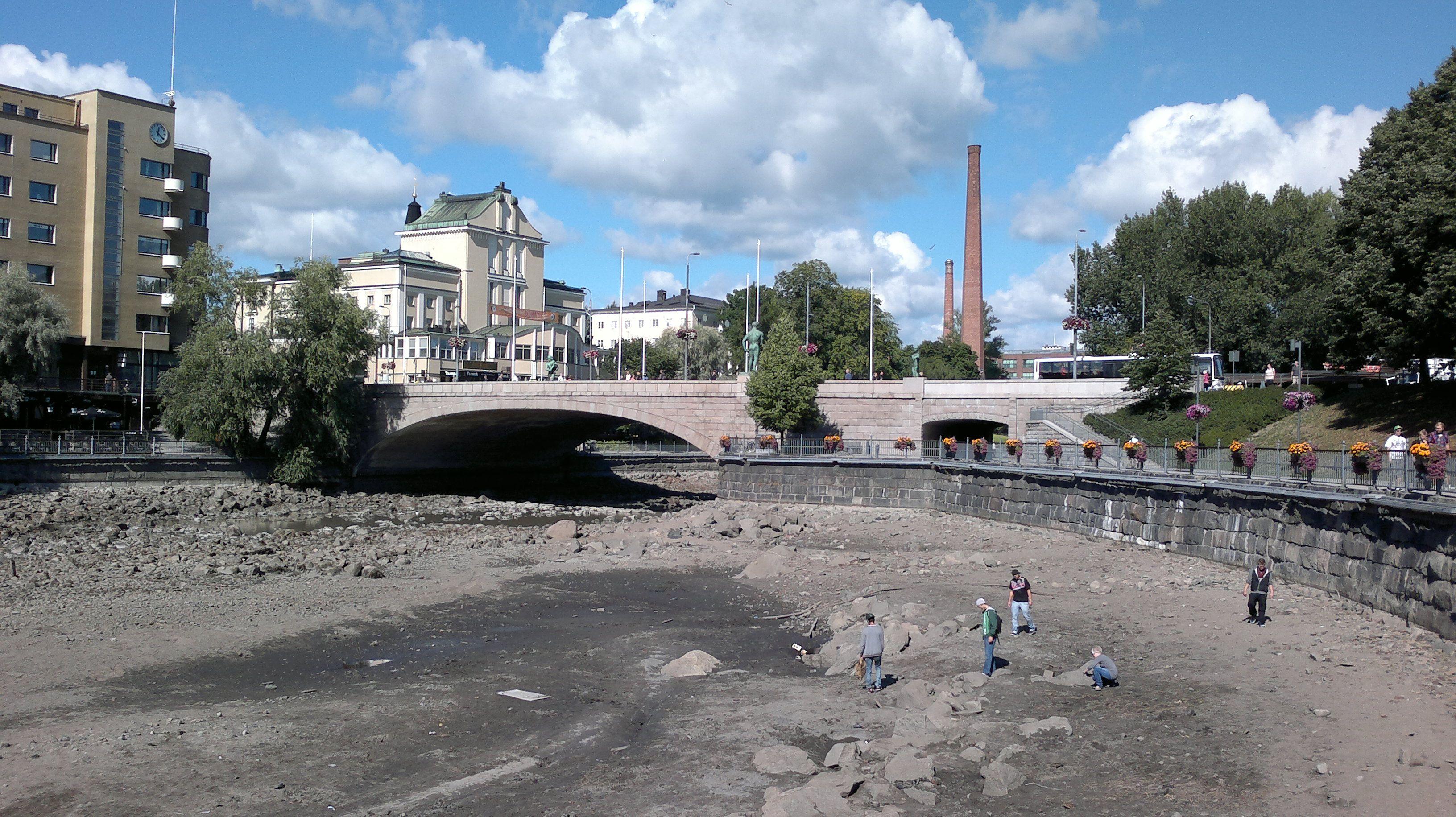 Kerran sadassa vuodessa -Tammerkoski tyhjänä