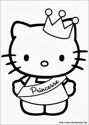 Hello Kitty Para Colorir Desenhos Da Hello Kitty Para Imprimir E