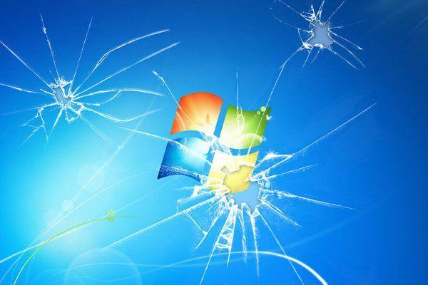 El Soporte Para Windows 7 Llega A Su Fin Broken Screen Wallpaper Screen Wallpaper Hd Windows Wallpaper
