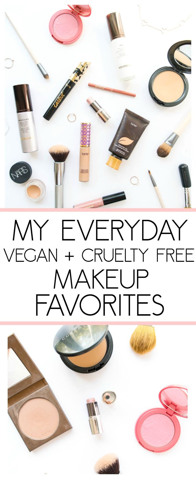 My Everyday Vegan & CrueltyFree Makeup Favorites