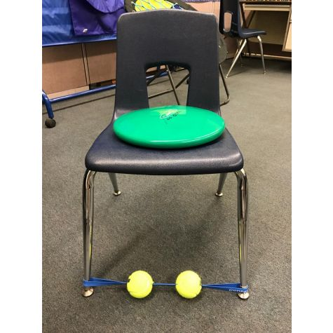 SENSORY FIDGET for the FEET (Black Band / Neon Balls) - Helping Fidgety Learners Focus  sc 1 th 225 & SENSORY FIDGET for the FEET (Black Band / Neon Balls) - Helping ...