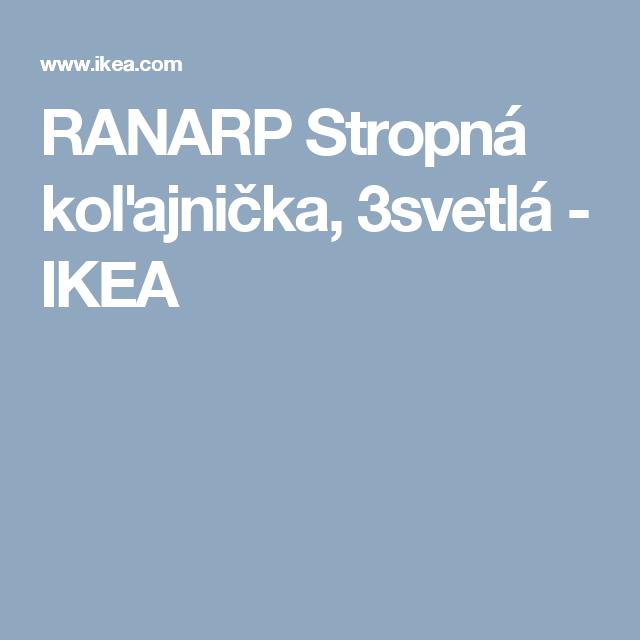 RANARP Stropná koľajnička, 3svetlá   - IKEA