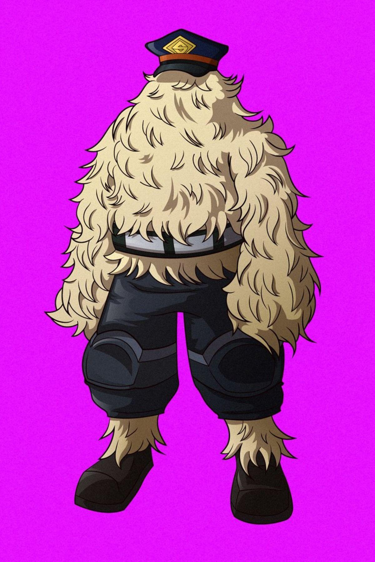 Nagamasa Moura Anime My Hero Academia Birthday
