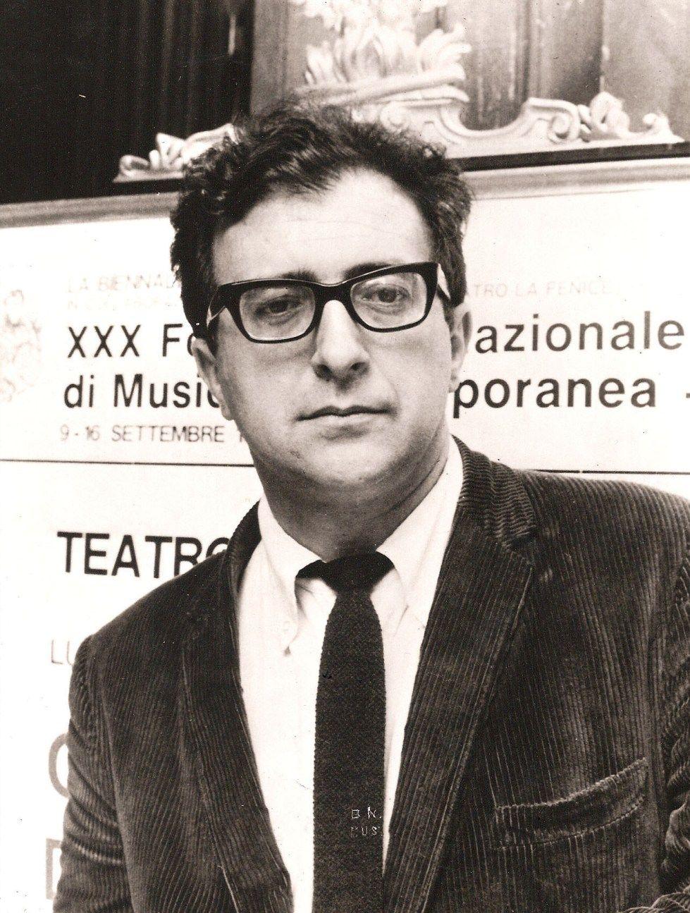 Luciano Berio [1925, Oneglia, Italy - 2003, Rome, Italy] was