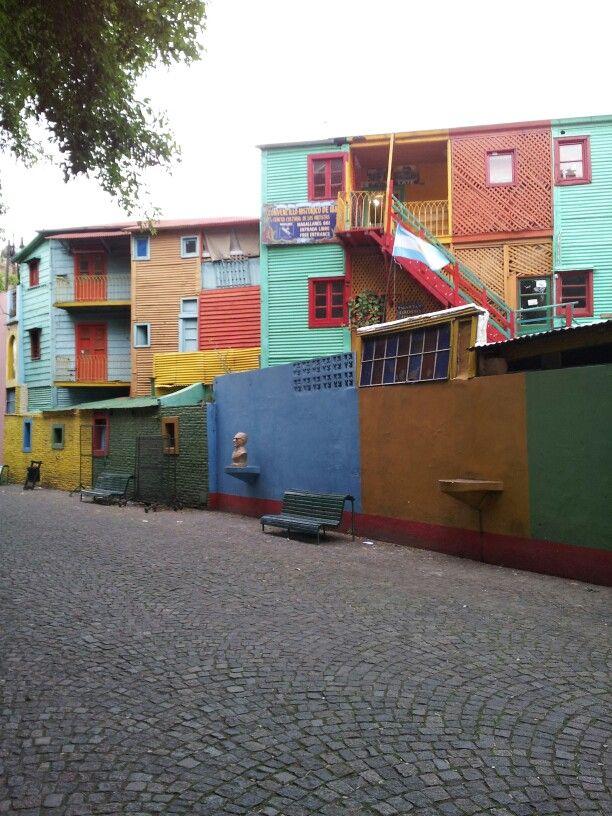 Caminito, La Boca, Ciudad de Buenos Aires.