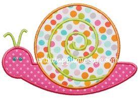 Snail Applique Design