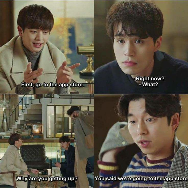 This Had Me Rolling On The Floor Goblin Korean Drama Goblin Kdrama Korean Drama Funny