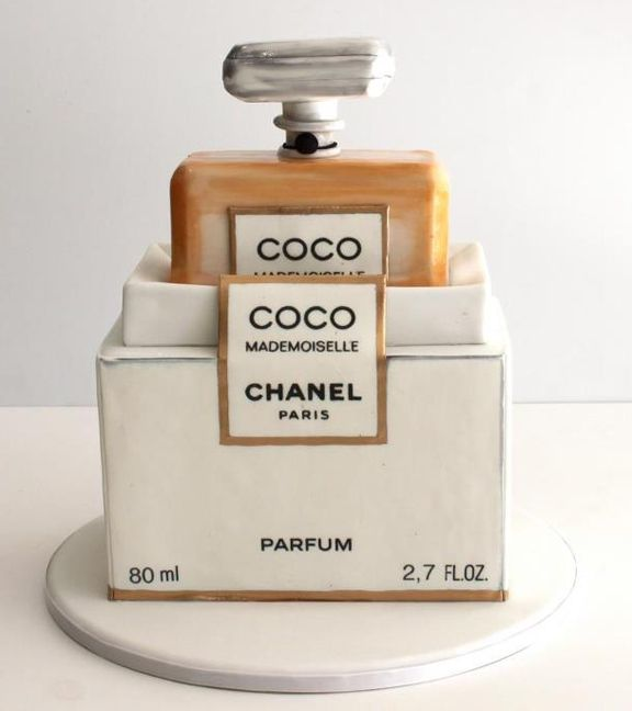 Chanel Nail Polish Cake: Let Them Eat (makeup And Perfume Inspired) Cake. Or
