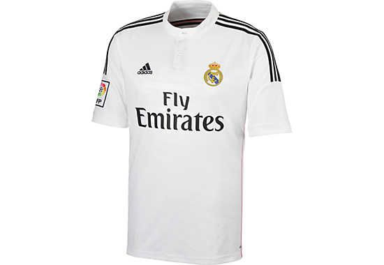 5416453cc8d adidas Real Madrid Home Jersey 2014-2015...Available at SoccerPro now.