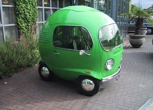 It'd be like driving around in a extremely large green gumball