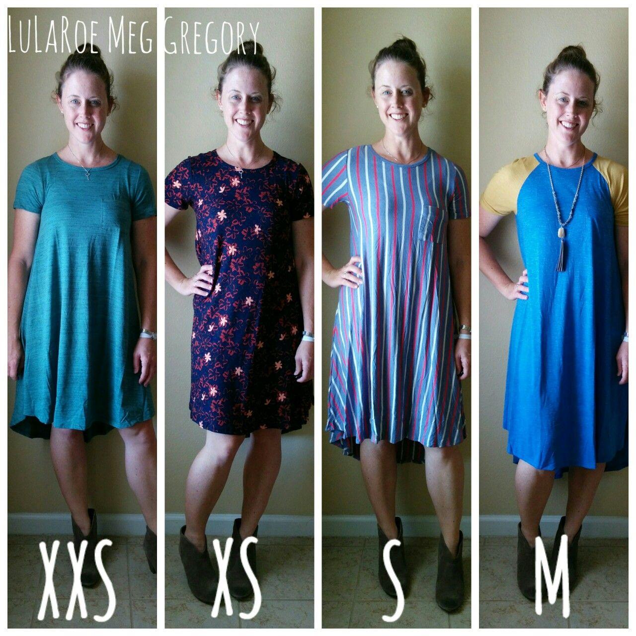 Lularoe Carly Dress This Is How Sizes Xxs Medium Fit On Me Street