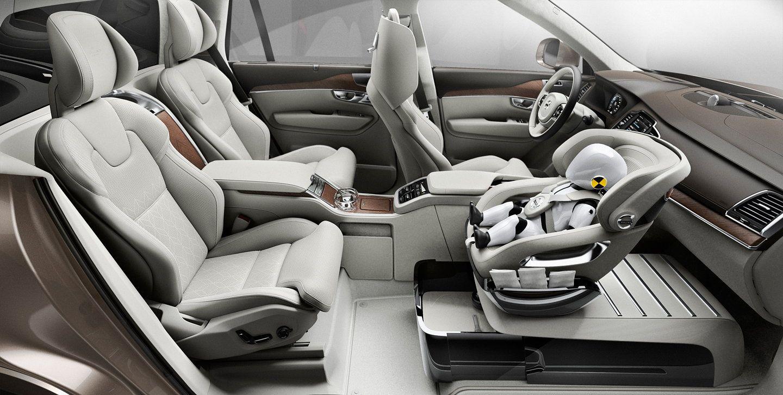 Volvo Unveils Xc90 Excellence Child Seat Concept Kids Seating Volvo Xc90 Volvo