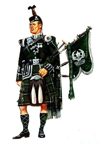 Pipers uniform