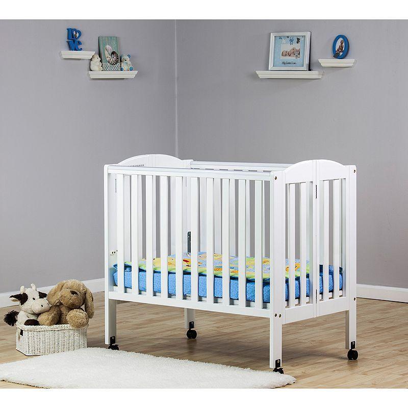Dream On Me 2-in-1 Folding Portable Crib,