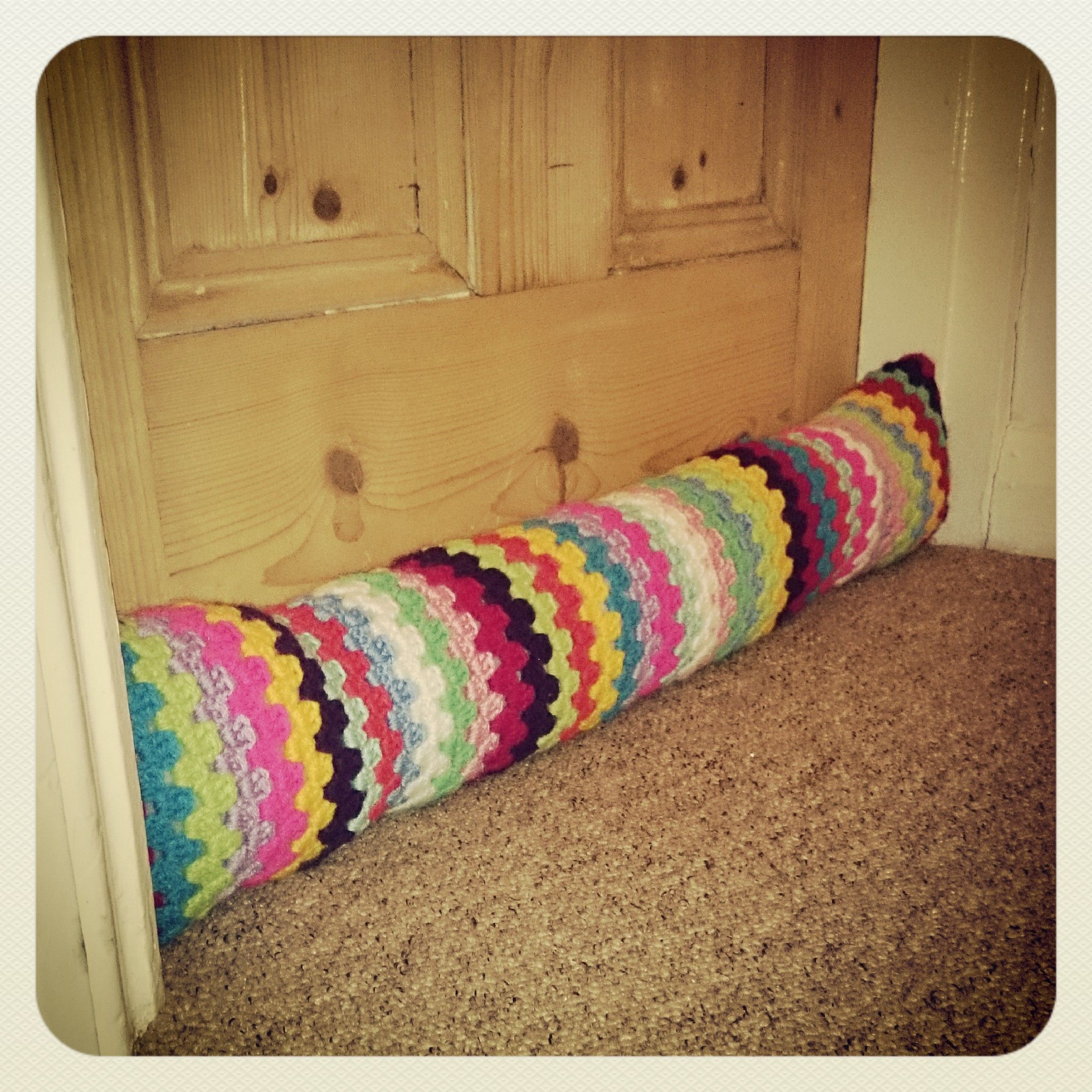 Draught excluders Zugluftstopper Crochet ganchillo | Crochet ...