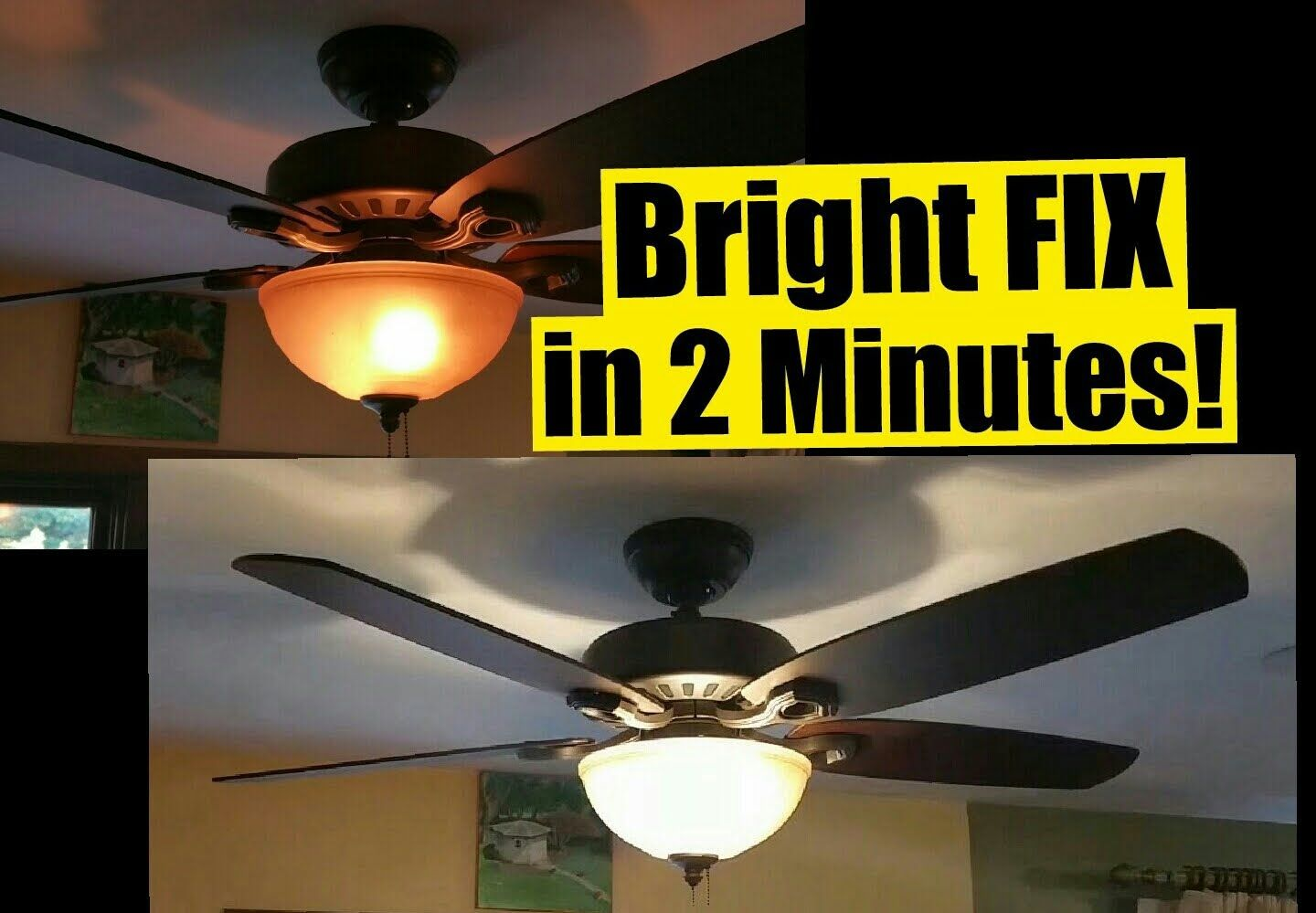 Hunter Fan Lights Blinking Ceiling