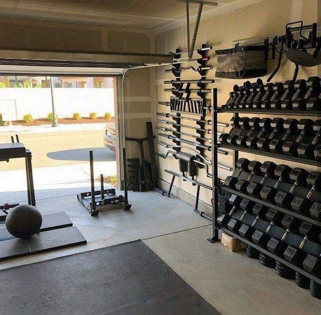 Personal Home Gym Design Ideas For Men 00010