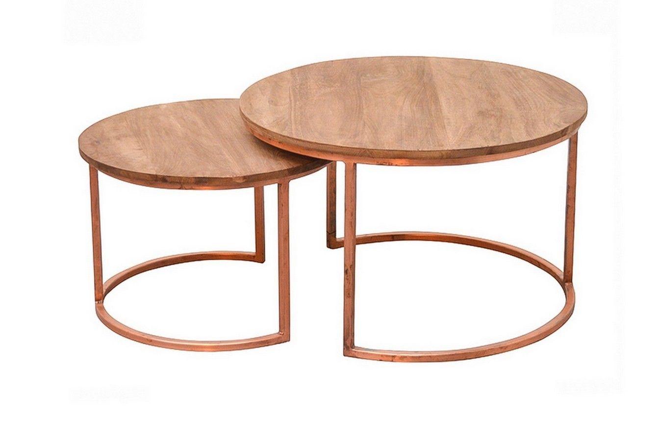 Kupfer Möbel couchtisch modern kupfer set kleinmöbel beisteller vintage
