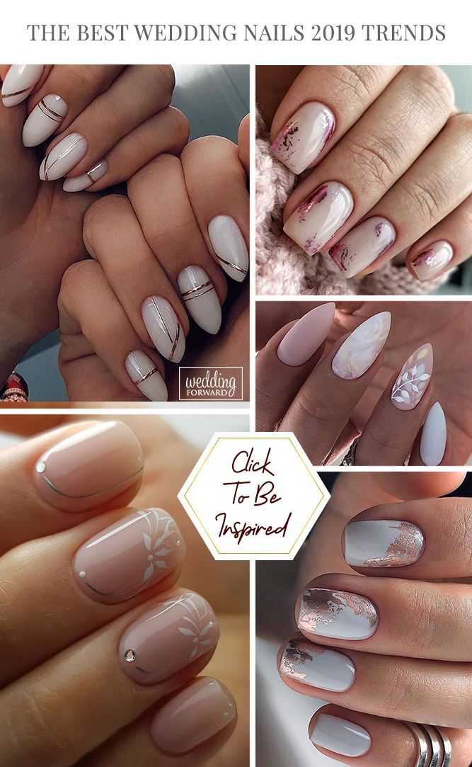 The Best Wedding Nails 2020 Trends in 2020   Nails ...