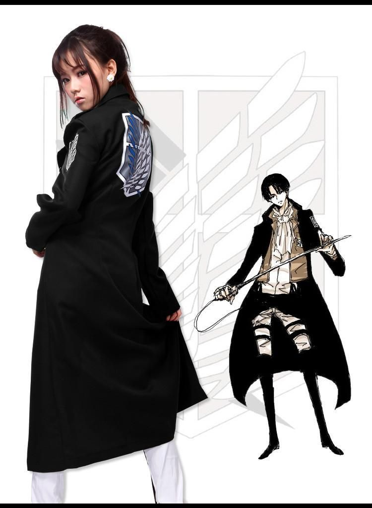 Attack On Titans Anime Long Jacket Coat SD00750