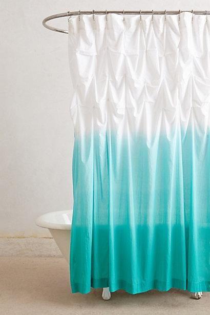 Ocean Upward Shower Curtain I Anthropologie Com White Bathroom Accessories Ombre Shower Curtain Curtains