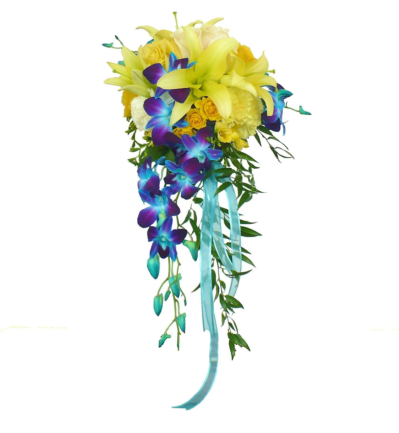 Dyed dendrobium orchid bridal bouquets blue orchid bridal bouquet dyed dendrobium orchid bridal bouquets blue orchid bridal bouquet 15495 send flowers halifax izmirmasajfo Choice Image