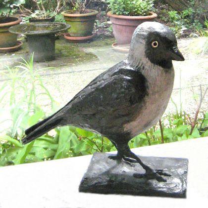 bronzen vogels, ijsvogel, kauw, roodborst | Bronzen ...
