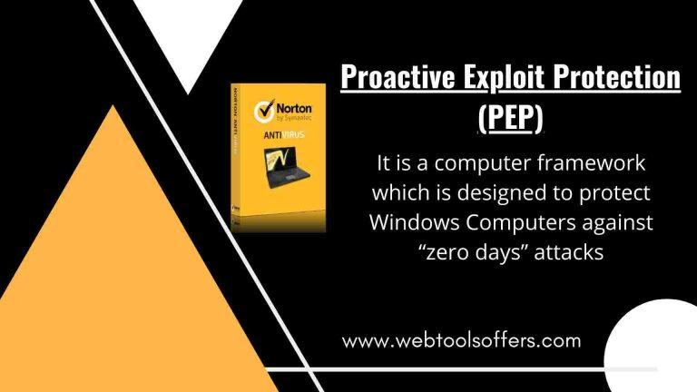 Norton Proactive Exploit Protection Pep In 2020 Antivirus Program Norton Antivirus Antivirus Software
