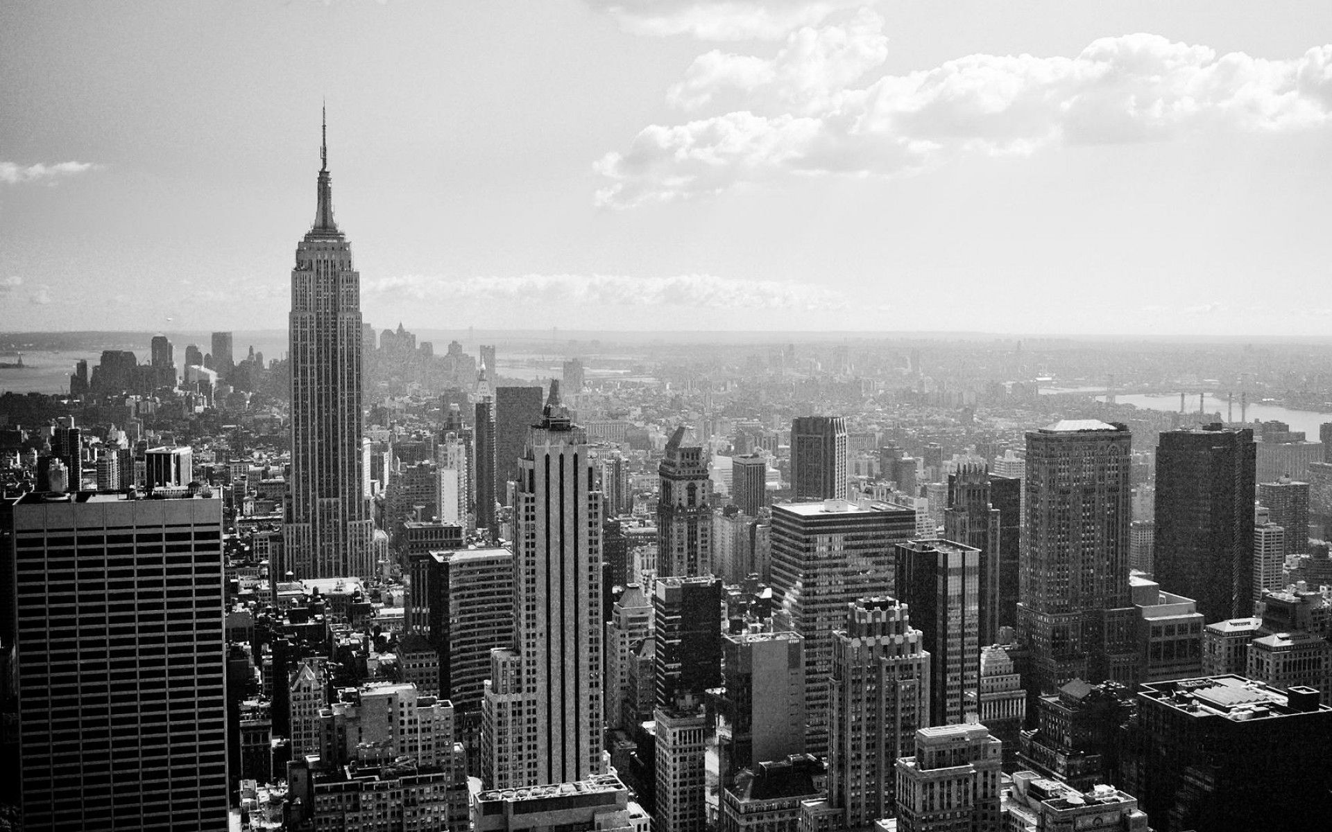Image for New York City Black And White Free Wallpaper